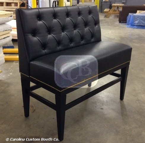bar height banquette carolina custom booth 39 s blog. Black Bedroom Furniture Sets. Home Design Ideas